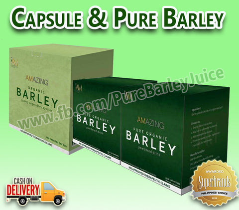 "1 Box Barley Capsule 2 Boxes Pure Barley Powder Juice ""FREE SHIPPING"""