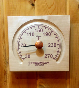 Square Sauna Thermometer