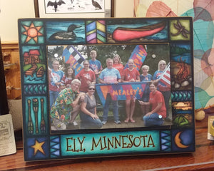 Ely Minnesota Summer Picture Frame