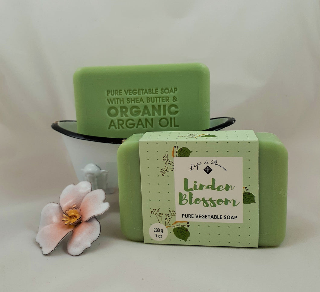 Linden Blossom French Soap