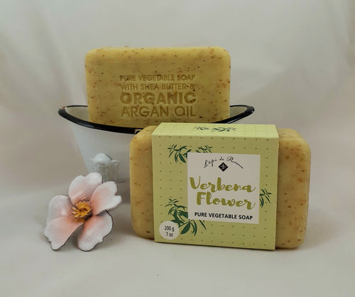 Verbena Flower French Soap
