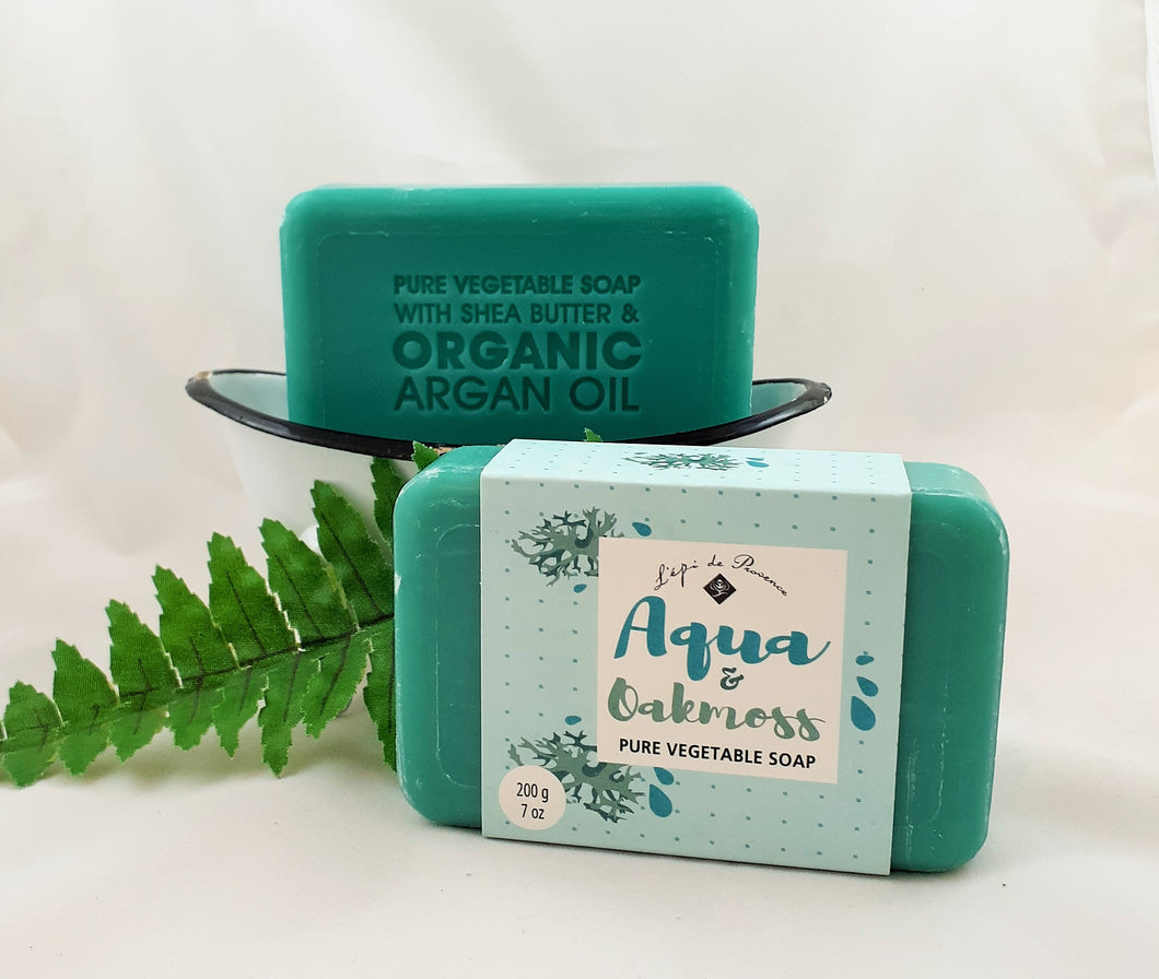 Aqua & Oakmoss French Soap