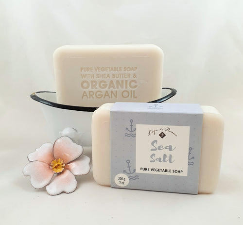Sea salt French Soap