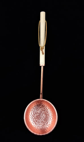 Hammered Copper Ladle