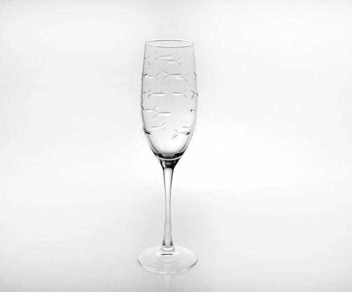 8 oz Champagne Flute With Stem