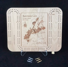Load image into Gallery viewer, Cribbage Board - Minnesota Lakes