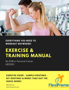 Exercise Guide & Training Manual - No GYM Needed!