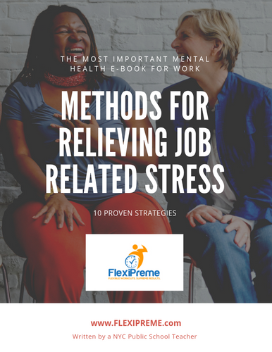 Methods to Relieve Job Related Stress E-Book