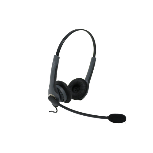 Jabra GN2000 QD DUO Wired Headset (Certified Renewed)