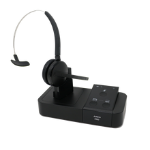 Load image into Gallery viewer, Jabra PRO 9450 Midi Boom Convertible Wireless Headset (Certified Renewed)