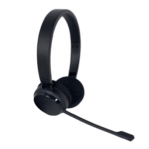 Jabra Evolve 20 USB DUO Wired Headset (Certified Renewed)