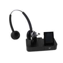 Load image into Gallery viewer, Jabra PRO 9465 Dual Speaker Wireless Office Headset System (Renewed)