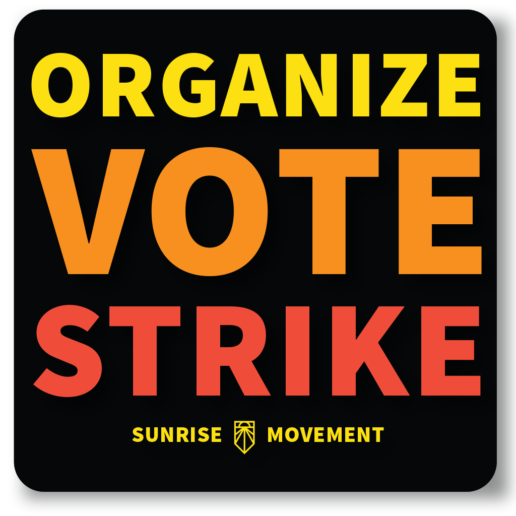 Organize Vote Strike Decal