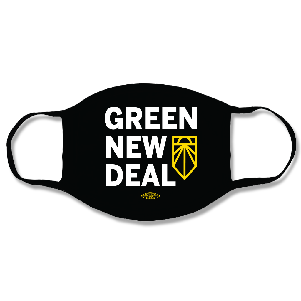 Green New Deal 3-Ply Face Mask