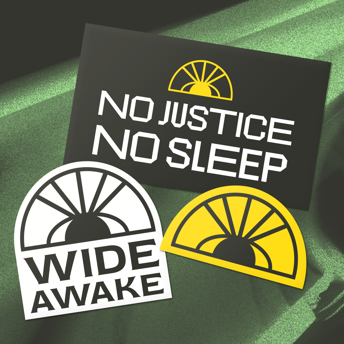 Wide Awake Sticker Pack