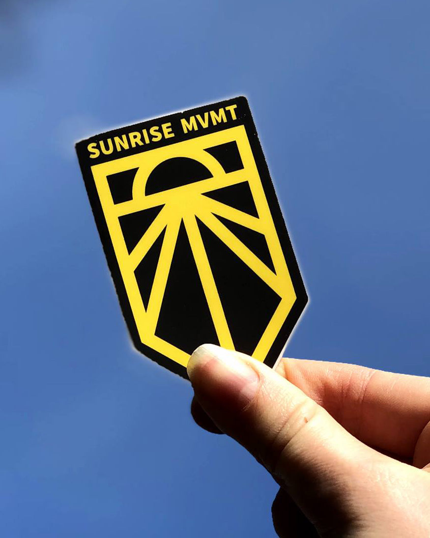 Sunrise Movement Sticker 10-Pack