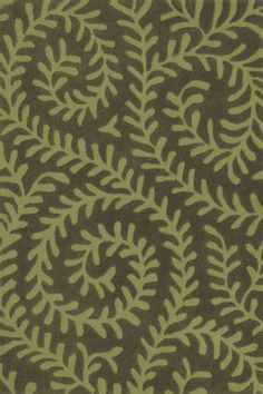 Vine Green Tufted 3x5 Rug