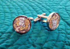 Newport Chart Cuff Links
