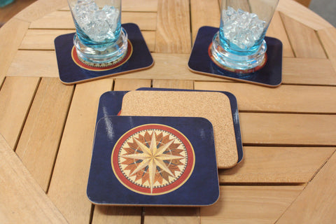 Compass Rose Coasters