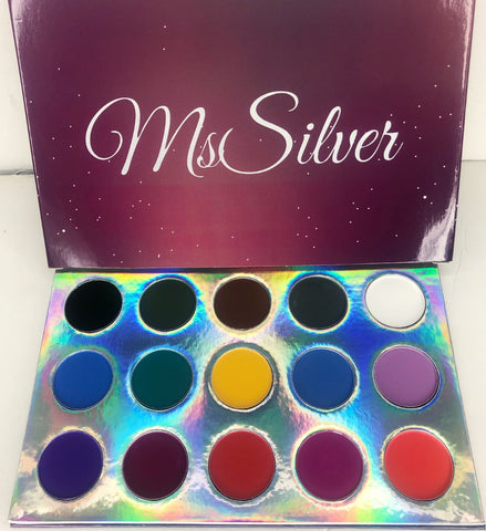 Ms.Silver Holographic Palette