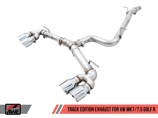 AWE Track Edition Exhaust for MK7 Golf R - GRDtuned