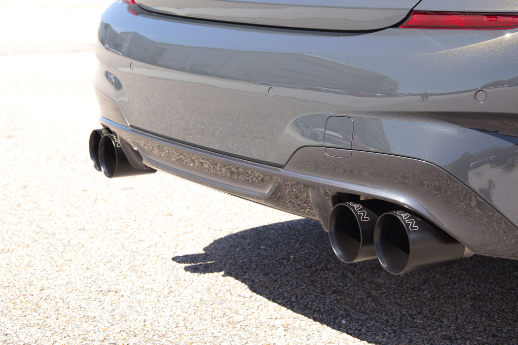 DINAN FREE FLOW AXLE-BACK EXHAUST - 2019-2020 BMW M340I - GRDtuned