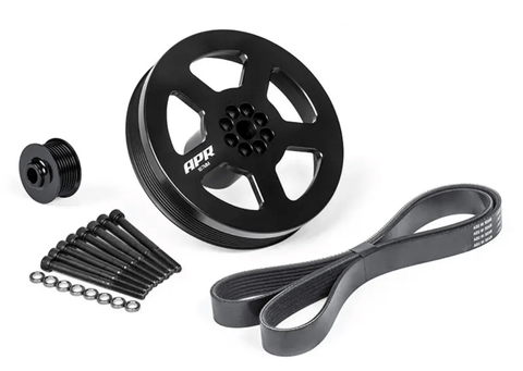 APR SUPERCHARGER PULLEY UPGRADE KIT 3.0 TFSI - (PRESS ON). - GRDtuned