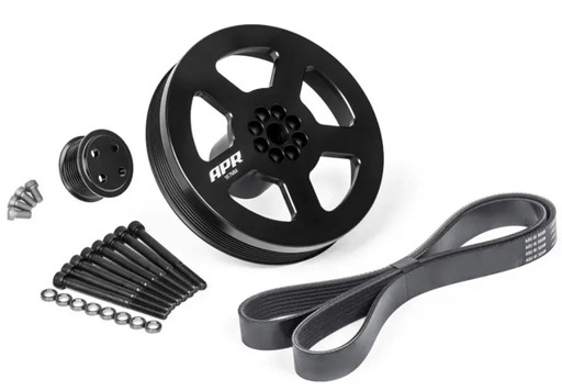 APR SUPERCHARGER DUAL PULLEY UPGRADE KIT 3.0 TFSI - (BOLT ON) - GRDtuned