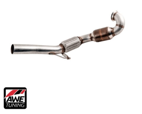 AWE DOWNPIPE MQB FWD - GRDtuned
