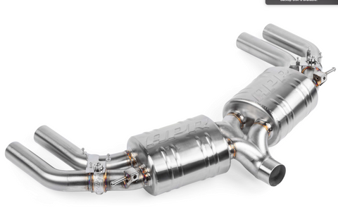 APR Axleback Exhaust System - S3 (8V) SEDAN