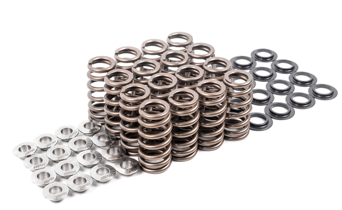 APR VALVE SPRINGS/SEATS/RETAINERS - SET OF 16