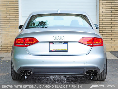 AWE TOURING EDITION PERFORMANCE EXHAUSTS FOR AUDI B8 A4 3.2L