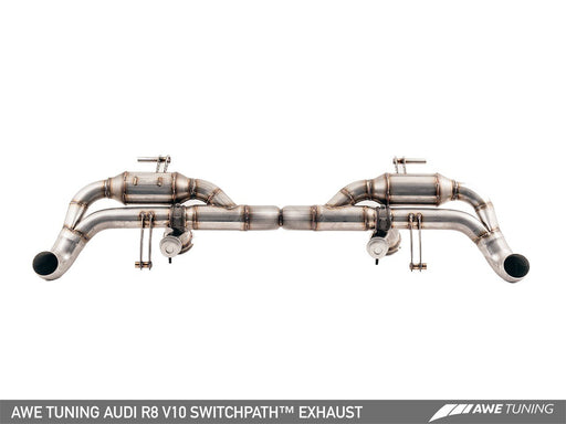 AWE SWITCHPATH EXHAUST SYSTEM FOR AUDI R8 5.2L (2014-15) - GRDtuned