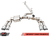 AWE EXHAUST SUITE FOR AUDI 8V S3 - GRDtuned