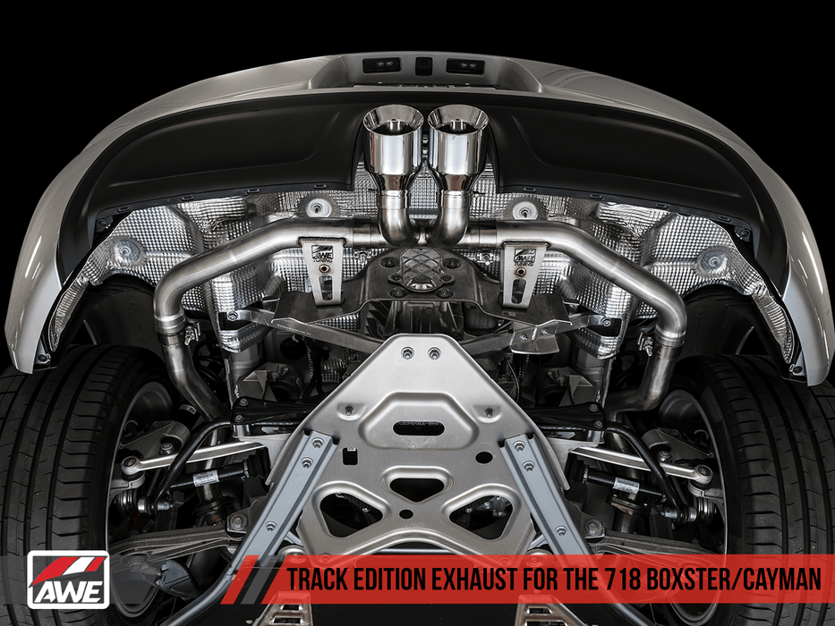 AWE TUNING PORSCHE 718 BOXSTER / CAYMAN EXHAUST - GRDtuned