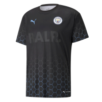 Manchester City X BALR Signature Black Soccer Shirt