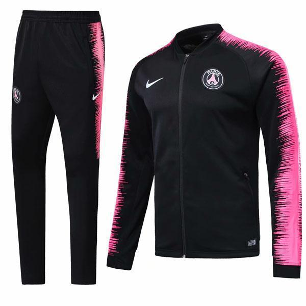 PSG | Black Type B | Training Tracksuit - SoccerTriads