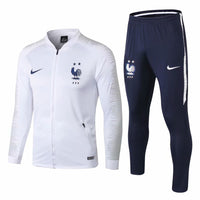 France | White | Training Tracksuit 18/19 - SoccerTriads