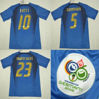 Italy | Home Shirt 2006 - Discount Soccer Jerseys