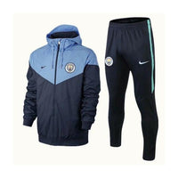 Man City | Type A Windbreaker Jacket + Pants Training Suit 18/19 - Soccer-Triads.co.uk