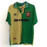 Man Utd | Newton Heath Shirt LUHG Green & Gold - Any Name - Discount Soccer Jerseys