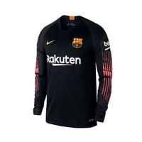 Barcelona | Home Kit 18/19 | Long Sleeves - Soccer-Triads.co.uk