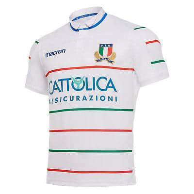 Italy Rugby Union Shirt | Away 18-19 - Soccer-Triads.co.uk