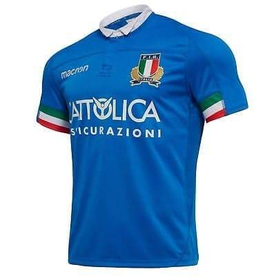 Italy Rugby Union Shirt | Home 18-19 - Soccer-Triads.co.uk