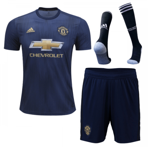 Manchester United | ADULTS FULL KIT Third 18/19 - Discount Soccer Jerseys