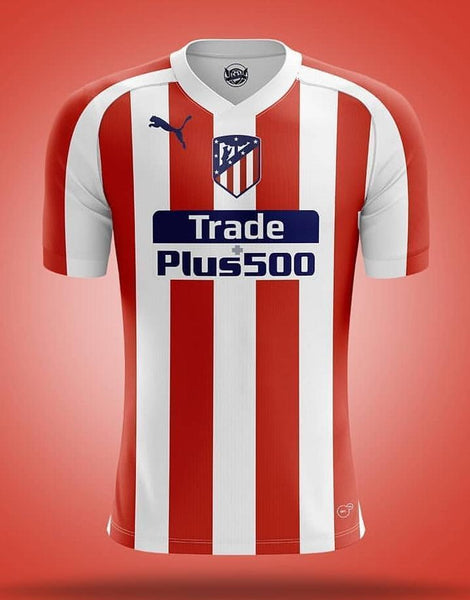 Atletico Madrid | Home Shirt 19/20 - Discount Soccer Jerseys