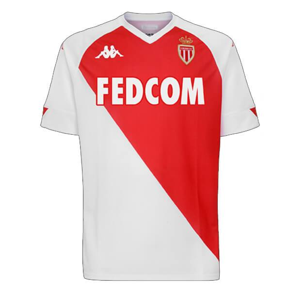 A S Monaco | Home Shirt 20/21 - Discount Soccer Jerseys