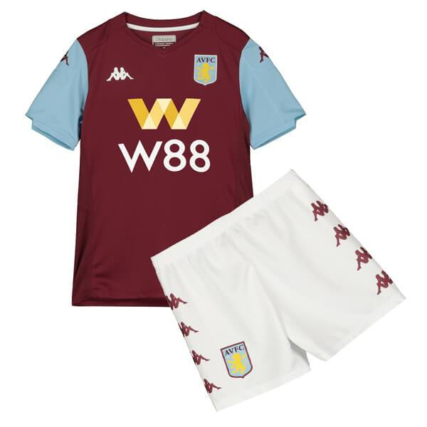 Aston Villa | Home Kids Kit 19/20 - Discount Soccer Jerseys