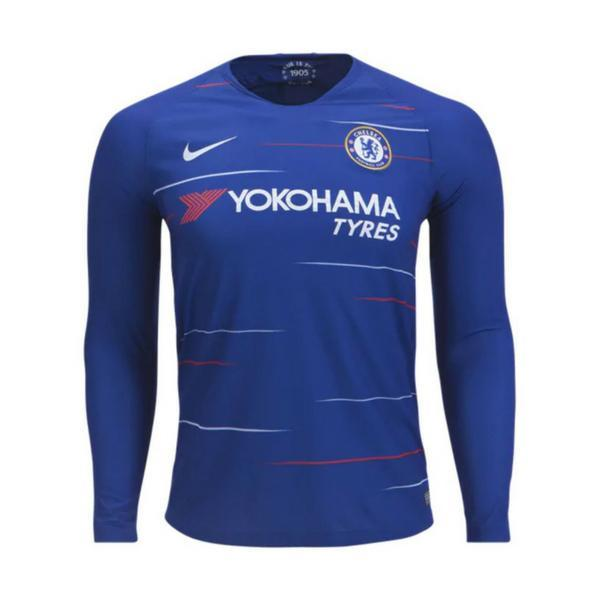 Chelsea | Home Kit 18/19 | Long Sleeves - SoccerTriads