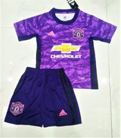 Manchester United | KIDS Goalkeeper Kit 19/20 - Discount Soccer Jerseys